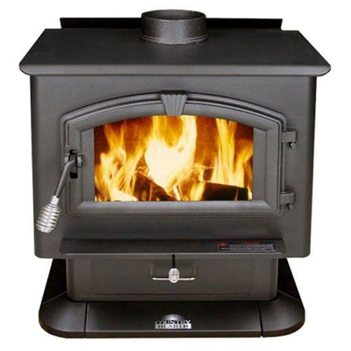 US Stove 2000 EPA Certified Wood Stove, Medium
