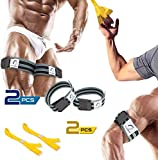 BFR Bands, Occlusion Bands, Arm Bands, Blood Flow Restriction Bands, Training Bands as Weight Lifting Bands, Bicep Band for Blood Flow Restriction Training, Occlusion Training Bands (Occluband)
