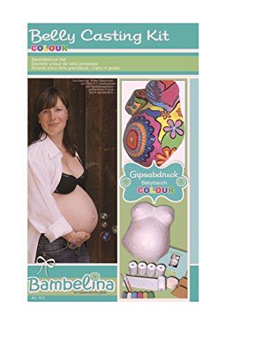 Tausendschön COLOUR - Gipsabdruck-Set für Ihren Babybauch - Deutsches Produkt
