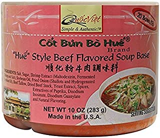 Quoc Viet Foods Cot Bun Bo Hue Style Beef Flavored Soup Base, 10 oz.