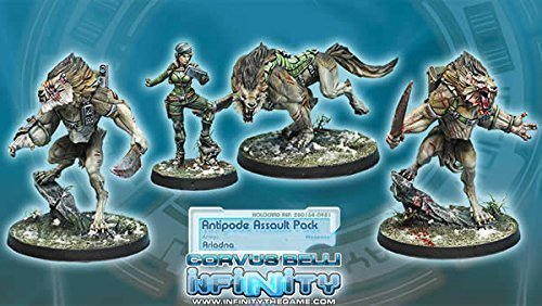 Ariadna Antipode Assault Pack Miniature Corvus Belli by Corvus Belli