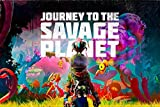 WOAIC Journey to The Savage Planet Poster for Bar Cafe Home
