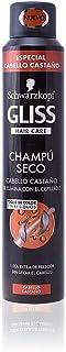 Gliss - Champú Seco Castaño - 1 unidad de 200ml