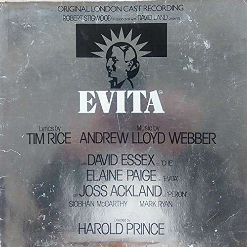Andrew Lloyd Webber And Tim Rice / Evita: Original London Cast Recording