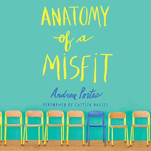 Anatomy of a Misfit audiobook cover art