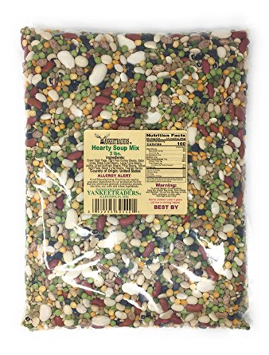 Yankee Traders, Hearty Soup Mix, 3 Pound