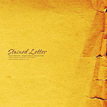 Stained letter