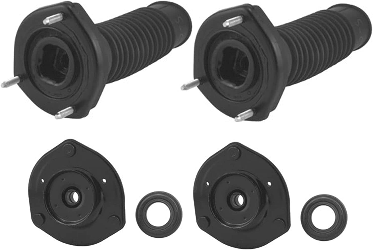 Replacement Front and Rear Kit Mount Suspension Strut Max 77% OFF Selling and selling