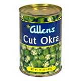 Allens, Okra Cut, 14.5 OZ (Pack of 12)