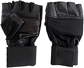 Neulife Gym & Fitness Gloves (Free Size, Black)