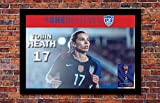 2019 Women's World Cup Soccer | Tobin Heath Poster | 13 x 19 inches