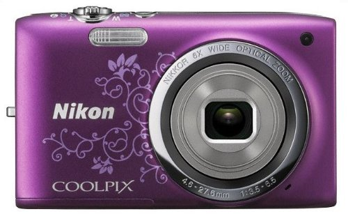 nikon digital cameras compacts Nikon COOLPIX S2700 Compact Digital Camera (Purple)