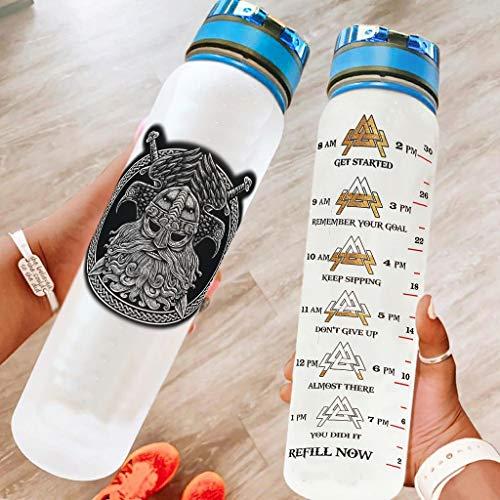LIFOOST Botella deportiva a prueba de fugas, no tóxica, apta para oficina, para correr, color blanco, 1000 ml