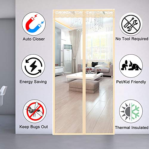 commercial Insulated Door Curtains – Magnetic thermal door covers that block and maintain winter ventilation… thermal door curtain
