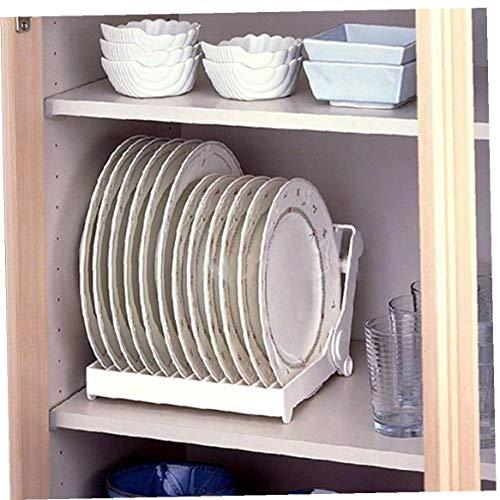 1pc Secado Escurreplatos Escurridor Plegable, Plegable De La Tendedero Cocina Encimera Escurridor Rack