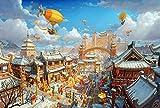 XIANWEI Tangram Puzzle Royal City Puzzle Inicio Regalos y Decoraciones únicas (Size : 5000 pcs)
