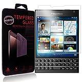 Ycloud Panzerglas Folie Schutzfolie Bildschirmschutzfolie für Blackberry Passport screen protector mit Festigkeitgrad 9H, 0,26mm Ultra-Dünn, Abger&ete Kanten