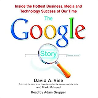 The Google Story audiobook cover art