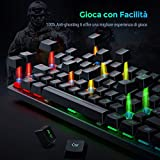 Zoom IMG-1 pictek tastiera meccanica usb cablata
