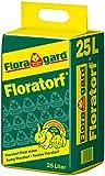 Floratorf 25 L - Reiner ungedüngter Weißtorf zur Bodenverbesserung, für fleischfressende Pflanzen oder als Einstreu für Kleintiere