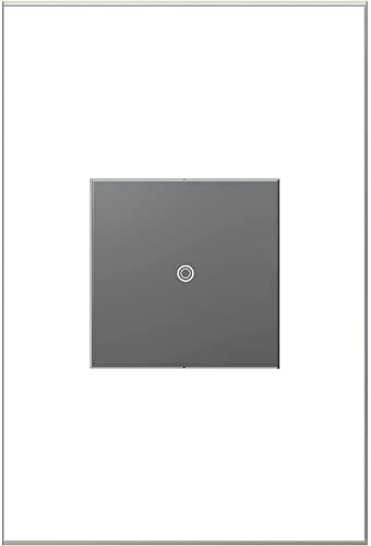 lowest Legrand online sale outlet online sale Adorne ASTPRRM1 SofTap WiFi Ready Remote Switch Magnesium online sale