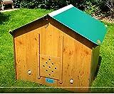 Easicoop Gotheque Pollo Coop Facile pulito HPL Tipo plastica casa di pollo Facile montaggio e spoglia giù