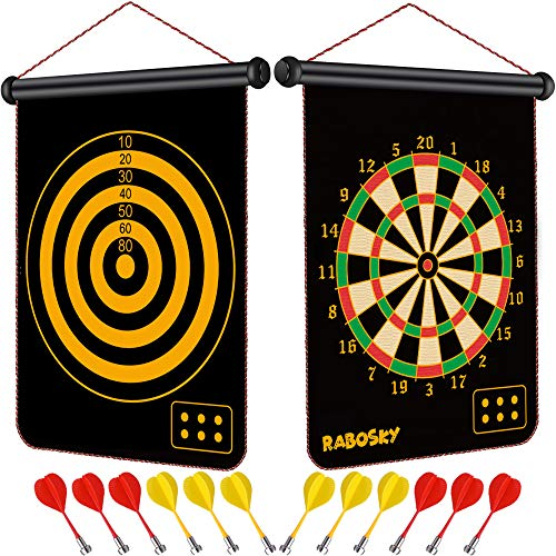 Rabosky Dart Game Toy for Boys Age 6 7 8 9 10 11 12 Year Old, Boys...