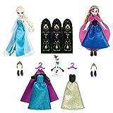 アナと雪の女王 着せ替え人形3体 ワードローブフィギュアセット【日本未発売、USディズニーストア】並行輸入品