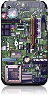 GelaSkins Motherboard Protective Skin with Digital Wallpaper Downloads for the iPhone 3G/3GS