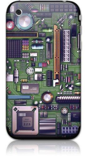 GelaSkins Schutzfolie für iPhone 3G / 3GS (Motherboard-Schutzfolie, mit digitalen Tapeten)