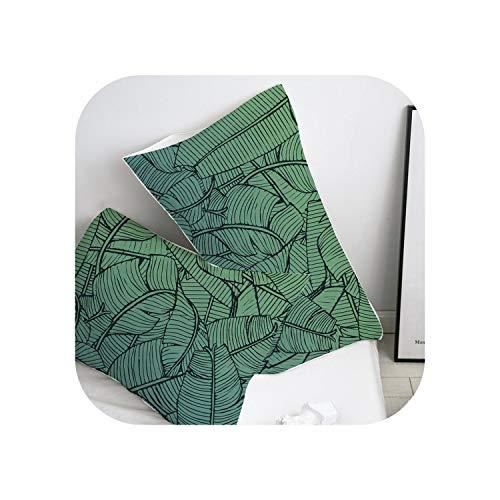 my cat Pillow Case Pillowcase 50x70/50x75/50x80/70x70 Decorative Pillow Cover,Nordic Flower birds Bedding-Flower -17-51x66cm(20x26in) x2