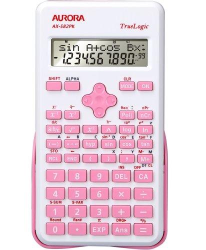 Aurora AX-582PK wetenschappelijke rekenmachine - Roze