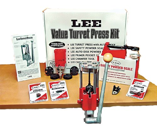 Lee Precision 909284-SSI Deluxe - Pressa per torretta a 4 Fori, Multi, N A