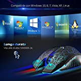 Zoom IMG-2 versiontech mouse da gaming con