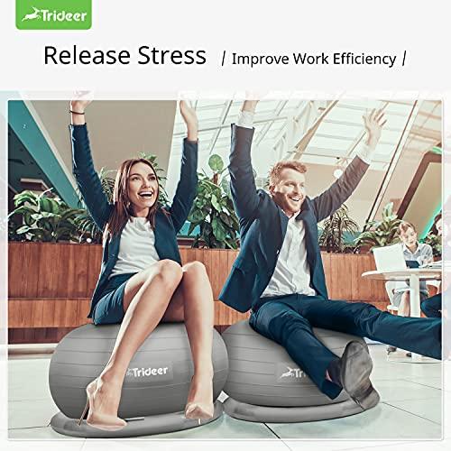 Trideer Ball Chair Yoga Ball Chair Exercise Ball Chair