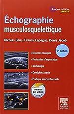 Échographie Musculosquelettique 2ed de Nicolas Sans