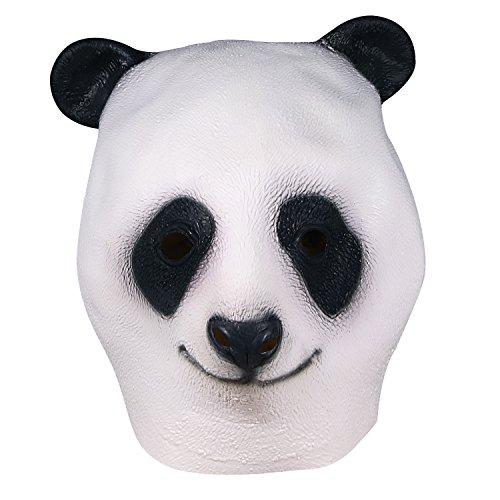 Máscara de Halloween, Oso Máscara Juego de Fusión Cara Látex Adulto Traje Cosplay Juguete