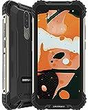 DOOGEE S58 Pro (2021) Móvil Resistente 6GB+64GB, 5180mAh, Cámara Triples 16MP+Cámara Frontal 16MP Teléfono Libre 4G Android 10, 5.7 Pulgada IP68/IP69K Smartphone Todoterreno, NFC/GPS, Negro