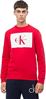 Men's Monogram Logo Crew Neck Sweatshirt