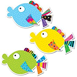 6-Inch Designer Fish Cut-Outs
