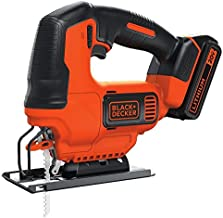 BLACK+DECKER BDCJS20C 20V MAX JigSaw with Battery and Charger (Renewed)