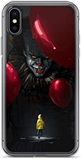 iPhone 6 Plus/6s Plus Case Anti-Scratch Motion Picture Transparent Cases Cover Pennywise Movies Video Film Crystal Clear