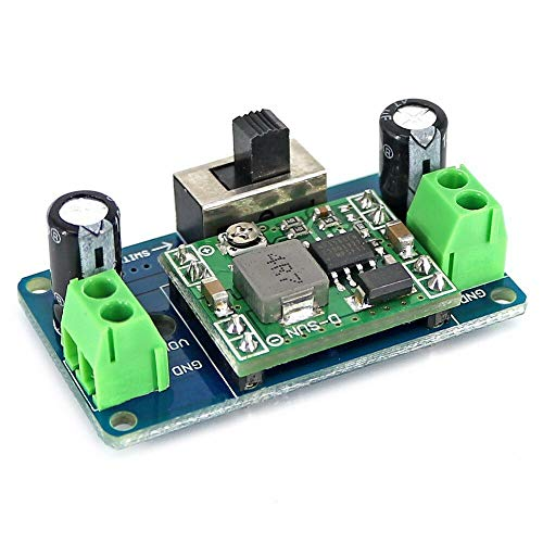 MP1584 5V Buck Converter 4.5-24V Adjustable Step Down Regulator Module with Switch OPEN-SMART for A-r-d-u-i-n-o - products that work with official for A-r-d-u-i-n-o boards 10pcs