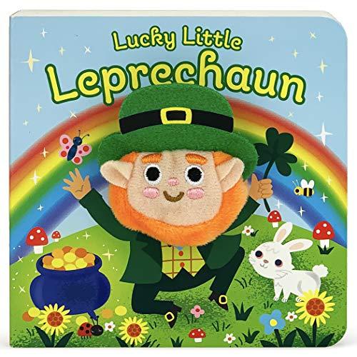 Lucky Little Leprechaun (Finger Puppet Book) (Finger Puppet Board Book)