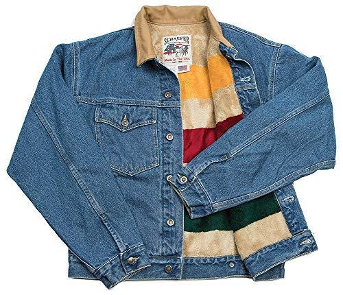 Schaefer Outfitters 583 Legend Denim Jacket W/Fleece Blanket Lining (XL)