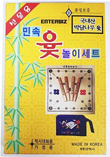 ENTERBIZ YUT Nori YUT Game Korean Board Game Yoot Game Yutnori Set Toy Korean Ver