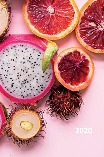 2020: Dragon fruit Cool Planner Calendar Organizer Daily Weekly Monthly Student for researching benefits of pitahaya