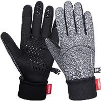 coskefy Fahrradhandschuhe Winter Handschuhe Damen Herren Sport Warm Touchscreen Laufen Arbeit Outdoor Gloves rutschfest...