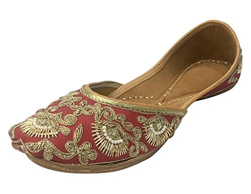 Step n Style Beaded Sandals Ethnic Sandal Khussa Shoes Punjabi Jutti Mojari Jooti