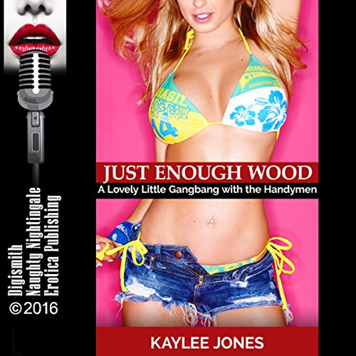 Just Enough Wood audiobook cover art